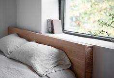 상품 상세보기 : bed - square bed / 네모 헤드 침대(Queen)