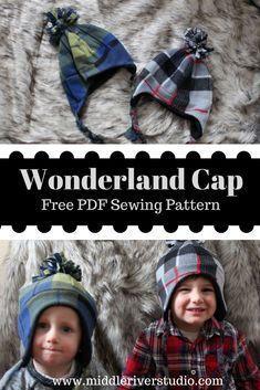 d913da42c69 Grant s First Sewing Project   SUAT Wonderland Cap
