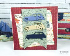 Get Creative with our First edition Transport Dies Card Making Tutorial
