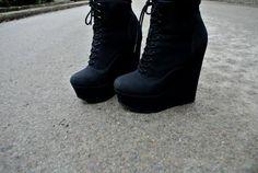 best black booties