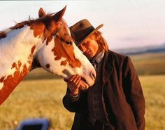 Famous faces- Viggo Mortensen as Frank Hopkins. Another pinner writes this.....Viggo, an actor I adore, in Hidalgo. Viggo loves his horses, he adopted RH Tecontender, one of the 5 Paints portraying Hidalgo from the film. TJ made for his third horse purchased off the set from his one of his movies. Viggo loves his horses and I love Viggo!