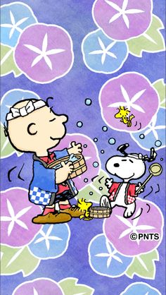 Charlie Brown, Snoopy, and friends in Japan.