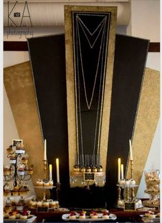 Backdrop/Banner-Gatsby themed party
