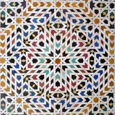 Détail de zellige Mosaic Tile Designs, Mosaic Patterns, Mosaic Art, Mosaic Tiles, Arabic Pattern, Pattern Art, Pattern Design, Geometric Designs, Geometric Art