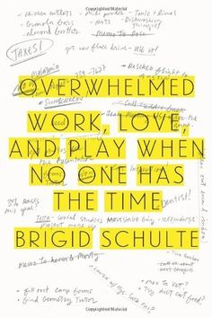 Overwhelmed: Work, Love, and Play When No One Has the Time by Brigid Schulte, http://www.amazon.com/dp/0374228442/ref=cm_sw_r_pi_dp_60Jntb0XBVA12
