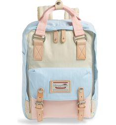 backpacks Attention all dreamers and doers-pack all you need for everyday commutes or sudden voyages in this boxy backpack made of sleek, durable water-repellent twill. The lightweight and Backpack Outfit, Backpack Purse, Fashion Backpack, Laptop Backpack, Longchamp Backpack, Beach Backpack, Guess Backpack, Prada Backpack, Laptop Bags