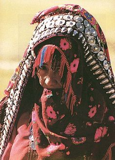 Iran | Portrait of a Ashayer woman ~ Iran's nomads | ©iran.net.au