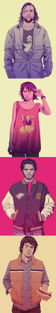 Mike Wrobel's reimagined Game of Thrones characters