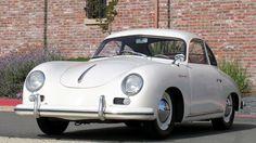 1955 Porsche 356 - simply beautiful. Check out more photos on Jalopnik.