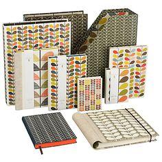 Orla Kiely Classic Stem Stationery Range