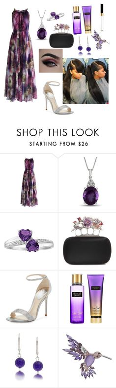 """happy mothers day"" by rebeccaseverin32 ❤ liked on Polyvore featuring Chicwish, Alexander McQueen, René Caovilla, Victoria's Secret, Bling Jewelry and Dana Buchman"