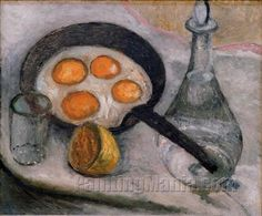Paula Modersohn-Becker, Still Life with Eggs