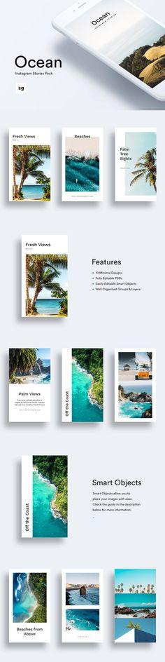 Ocean Instagram Stories Pack - CM 2456929