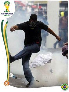 #wordcup2014 #Brazil #Olhaabomba !!!