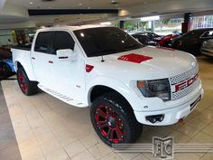 Buy this 2013 Ford F150 SVT Raptor, visit http://fortlauderdale-south.ebizautos.com/detail-2013-ford-f~150-4wd_supercrew_145_quote_svt_raptor-used-11292765.html This truck started life as a loaded 2013 F150 and was immediately upgraded with a long list of custom upgrades. Beside being a SUPER nice truck, it is unlike any other on the road.