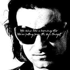 Bono the fly glasses Chris Cornell, U2 Lyrics, Zoo Station, U2 Songs, Achtung Baby, Paul Hewson, El Rock And Roll, Bono U2, Lyric Tattoos