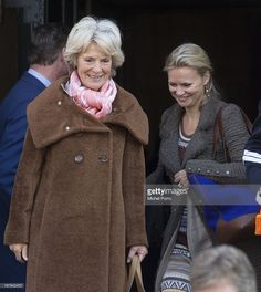 Princesses Irene of the Netherlands (L) and Princess Carolina of the Netherlands leave the Royal Palace after brunch with King Willem Alexander and Queen Maxima of The Netherlands on May 1, 2013 in Amsterdam Netherlands.