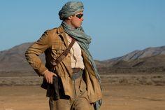 """Brad Pitt in a scene from """"Allied."""""""