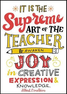 Every teacher knows this kind of joy!