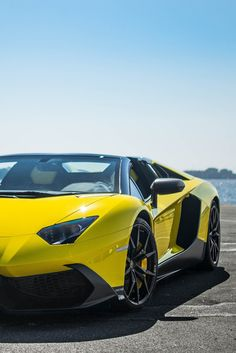 #Lamborghini #Aventador looking amazing in bright yellow! #Italian #SuperCar #Speed #Power #Style #Design #Luxury #Cars #CarShowSafari