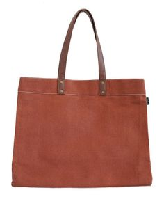 Love this Waxed Camel Carryall Tote on #zulily! #zulilyfinds