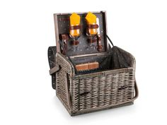 On The Go Anthology Kabrio Wine and Cheese Basket