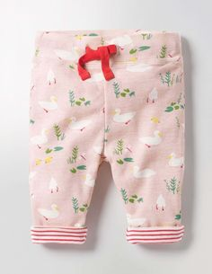 Cute duck print reversible kids pants. Supersoft Reversible Pants. #affiliate (I will receive a small commission if you click this link)