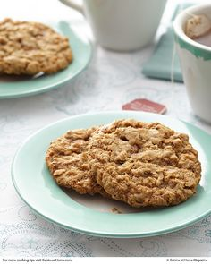 Caramel-Chai Oatmeal Cookies | Cuisine at home eRecipes