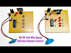 Wireless communication has always been fascinating! Check out our DIY Video for building a simple wireless circuit and make one for yourself. Electronics Basics, Electronics Projects, Rc Controller, Control Engineering, Simple Circuit, Rc Remote, Project Site, Circuit Projects, Arduino