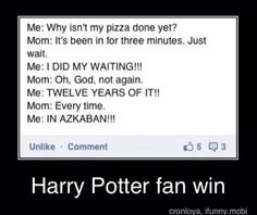 well you're son is a potterhead XD i think you got it now ! Harry Potter Jokes, Harry Potter Fandom, Harry Draco, Draco Malfoy, Ravenclaw, Fandoms, Golden Trio, Maxon Schreave, Must Be A Weasley