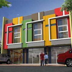 60 Desain Ruko 2 Lantai Minimalis dan Modern   Desainrumahnya.com