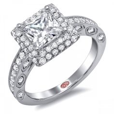 DemarcoJewelry.com  Available in White Gold 18KT and Platinum. 0.75 RDCapture her grace and endless beauty with this confident yet elegant design. We have also incorporated a unique pink diamond with every single one of our rings, symbolizing that hidden, unspoken emotion and feeling one carries in their heart about their significant other. This is not just another ring, this is a heirloom piece of jewelry.   Demarco Bridal Engagement Ring.