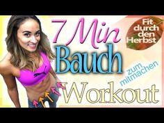 Bauch Workout - Bauchfett schnell verlieren - Sixpack Übungen in 7 Minuten - YouTube
