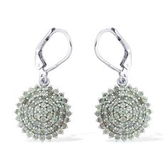 Liquidation Channel | Narsipatnam Alexandrite Lever Back Earrings in Platinum Overlay Sterling Silver (Nickel Free)