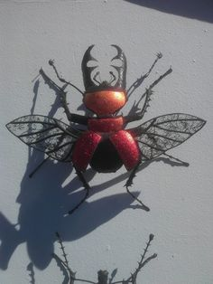 Sean Goddard Insects - Sooke, BC Canada  Gorgeous works of art - each of them handmade and none of them the same