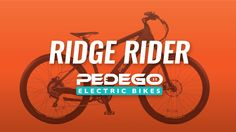The Pedego Ridge Rider is the ultimate electric mountain bike – giving you the freedom to venture off the beaten path and enjoy the great outdoors.