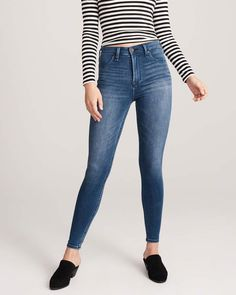 97805af70ec5f 9 Best Jeans images in 2019 | Skinny Jeans, Abercrombie fitch, Blue ...