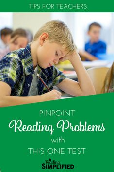 What most reading tests WON'T tell you...and FREE tests that WILL pinpoint the source of students' reading problems. Check out the 3 FREE tests that take less than 5 minutes. #strugglingreaders #teachertips Reading Assessment, Reading Test, Reading Centers, Reading Intervention, Reading Workshop, Reading Skills, Teaching Reading, Guided Reading, Kindergarten Reading