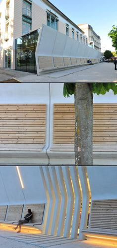 SPAR supermarket extension in Gmunden, Austria - by archinauten Austria, Opera House, Architecture, Building, Outdoor Decor, Travel, Home Decor, Arquitetura, Homemade Home Decor