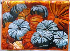 Quilting for Halloween? Here's some inspiration and photos of Halloween and harvest quilts of years past.