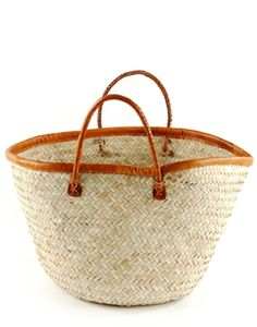 stylish palm shopper from The Little Market. great for trips to the farmers market!
