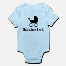 Stroller Infant Bodysuit for