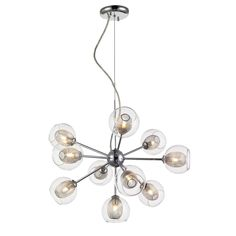 Z-Lite Auge Polished Chrome 10-light Chandelier - Overstock™ Shopping - Great Deals on Z-Lite Chandeliers & Pendants | $399