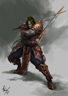 Fantasy Warriors – Fan Art