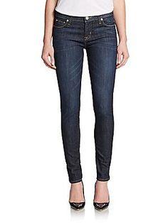 Hudson Dark Wash Super-skinny Jeans In Bergamo Blue Hudson Jeans, Super Skinny Jeans, Trousers, Pants, Jeans Style, Polyester Spandex, Contrast, Denim, Dark