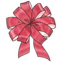 How to Make a Florist Bow. Maybe a large one for the tree?