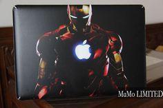 Iron Man-Macbook Top Decal Macbook Sticker Macbook Suit Decals Macbook Stickers Macbook Skins Mac cover Decal for Macbook vinyl skins/ on Etsy, $15.99