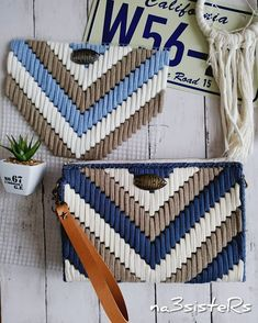 To Make All Your Projects Successful - Diy Crafts - Marecipe in 2020 Plastic Canvas Stitches, Plastic Canvas Crafts, Plastic Canvas Patterns, Diy Wedding Shoes, Rug Yarn, Crochet T Shirts, Canvas Purse, String Bag, Weaving Art