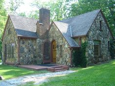 The Rock House on Rocky Ridge Farm. A git from their daughter, Rose Wilder Lane.