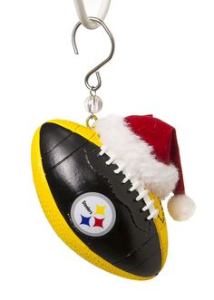Pittsburgh Steelers Football Christmas Ornament #FansWithPride
